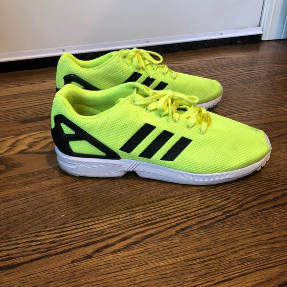 "Adidas ZX Flux ""neon yellow"""